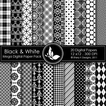 Black & White 1 Mega Pack