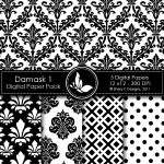 Damask 1 Digital Pack