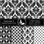 Damask 3 Digital Pack