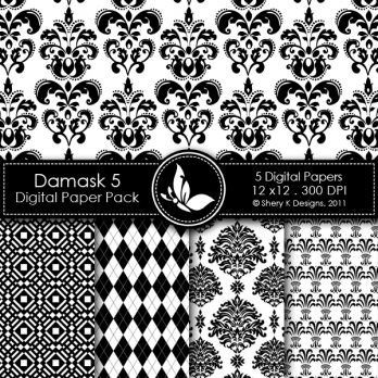 Damask 5 Digital Pack