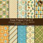 Free Digital Paper Pack 2