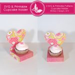 SVG & Printable Cupcake Holder 1