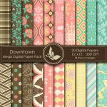 Downtown Mega Digital Papers