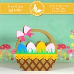 Free Card Making Kit - Egg Basket