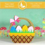 Free Card Making Kit - Egg Basket