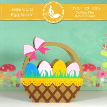Free Card Making Kit – Egg Basket