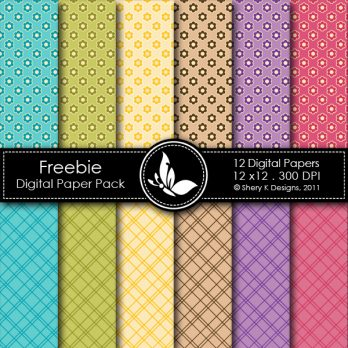 Free Digital Paper Pack 1
