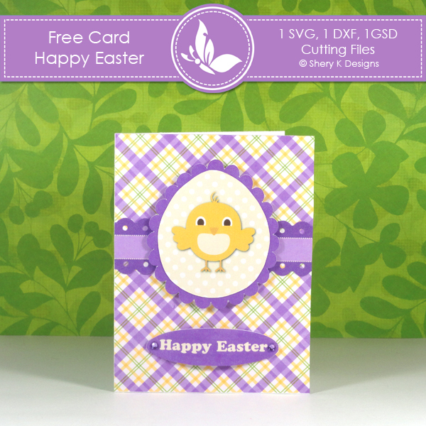 Free Card Making Kit Happy Easter – Easter Card Making Kits