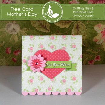 Making Card Kit - Mother's Day