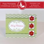 Free Printable Christmas Card 2