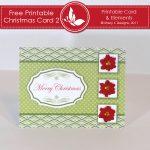 Free Printable Christmas Card 2