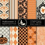 Halloween 3 Digital Paper Pack