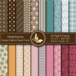 Harmony Digital Paper Pack
