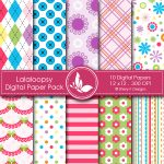 Lalaloobsy Digital Papers