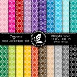 Ogees Basic Digital Paper Pack