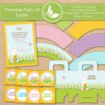 Printable Party Kit- Easter