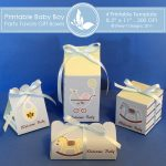 Baby Boy Party favors gift box 2