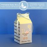 Baby Boy Party favors gift box 2 1