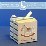 Baby Boy Party favors gift box 2 2
