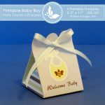 Baby Boy Party favors gift box 2 3