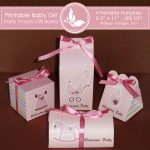 Baby Girl Party favors gift box 2
