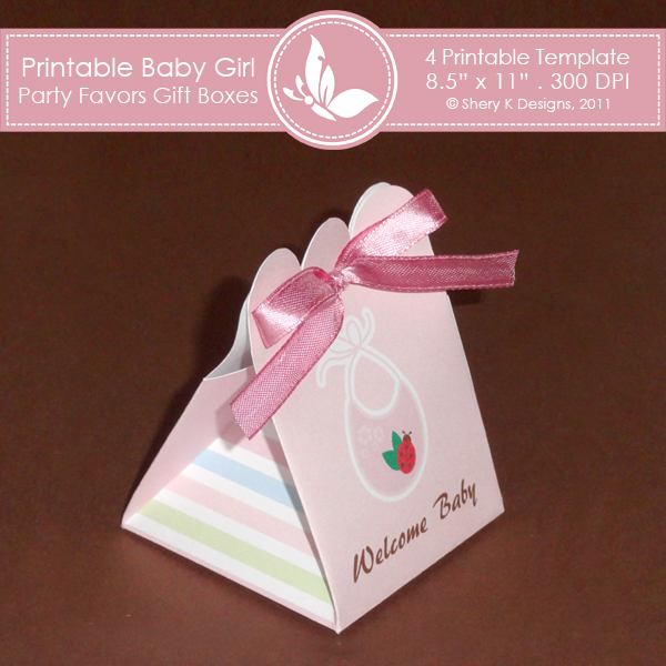 Baby Girl Party favors gift box 2 – Shery K Designs