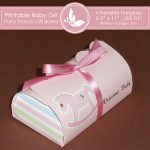 Baby Girl Party favors gift box 2 2