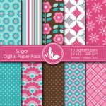 Sugar Digital Paper Pack