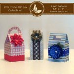 SVG Favors Gift Box Collection 1