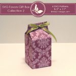 SVG & Printable Favors Gift Box Collection 2 2