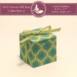 SVG & Printable Favors Gift Box Collection 2 3