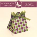 SVG & Printable Favors Gift Box Collection 2 4