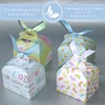 SVG & Printable Favors Gift Box 1 4