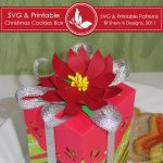 SVG & Printable Christmas Cookies Box 1
