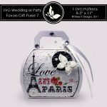 SVG & Printable Favors Gift Purse 7