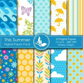 This Summer Digital Papers