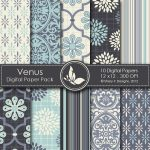 Venus Digital Paper Pack